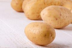 Картошки фермы свежие помытые все Стоковые Изображения