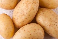 Картошки фермы свежие помытые все Стоковое Изображение RF