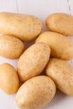 Картошки фермы свежие помытые все Стоковые Фото