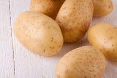 Картошки фермы свежие помытые все Стоковое Фото