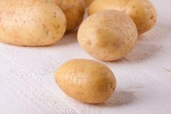 Картошки фермы свежие помытые все Стоковое Изображение