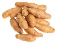 Картошки Fingerling изолированные на белизне Стоковое Фото