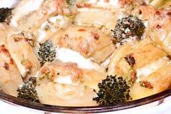 Картошки Rost с сыром Стоковые Фото