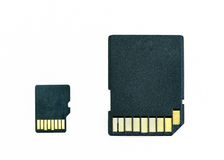 Карты памяти SD Стоковое фото RF
