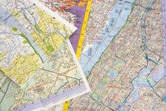 карты Стоковые Фото