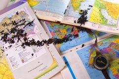 карты Стоковое Изображение RF