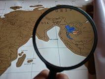 карты Стоковое фото RF