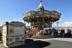 Карусель, St Tropez, Провансаль, Франция стоковое фото rf