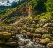 Карьер в горах Стоковое Изображение RF
