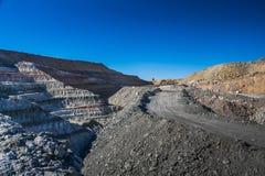 Карьер глины в Castellon Стоковые Фотографии RF