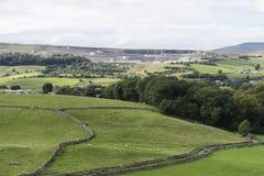 Карьер известняка Horton, Horton в Ribblesdale, Йоркшире Стоковое фото RF