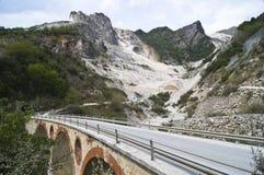 карьер моста мраморный Стоковые Изображения