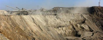 карьер шахты открытый стоковое изображение