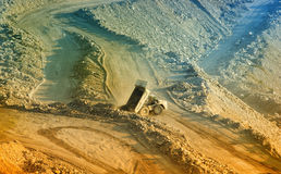 карьер стоковое изображение