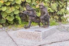 Карлики пожарных в Wroclaw Стоковые Фото