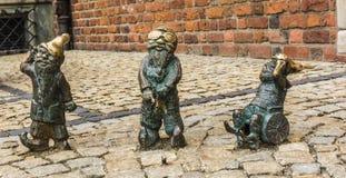 Карлики ½ s ¿ Wroclawï Стоковые Изображения