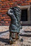 Карлик Gluchek Wroclaw Стоковые Фото