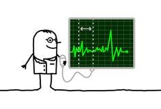 кардиолог Стоковая Фотография
