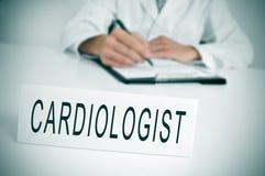 кардиолог стоковая фотография rf