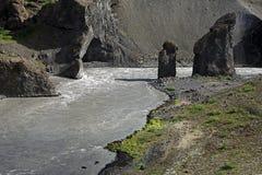 Карл и Kerling, Исландия Стоковые Фотографии RF