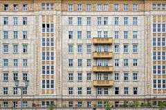Карл Марх Allee, Берлин, Германия Стоковая Фотография RF