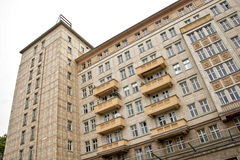 Карл Марх Allee, Берлин, Германия Стоковое Изображение