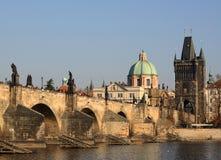 Карлов мост, Прага Стоковое Фото