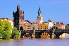 Карлов мост, Прага Стоковые Фото