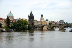 Карлов мост, Прага Стоковое Изображение RF