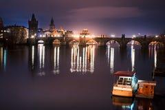 Карлов мост Стоковые Изображения