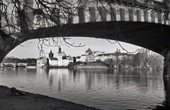 Карлов мост - Karluv больше всего Стоковое фото RF
