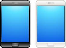 касание мобильного телефона Стоковая Фотография