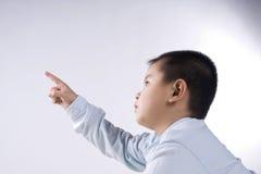 касание ребенка Стоковое фото RF