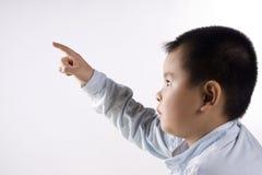 касание ребенка Стоковое Фото