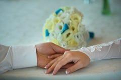 Касание руки Стоковая Фотография RF