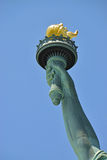 Касание свободы статуи Стоковая Фотография