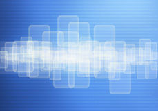 касание экрана панели бинарного Кода предпосылки Стоковая Фотография RF