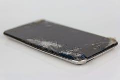 Касание iPod с сломленным дисплеем Стоковое Изображение RF