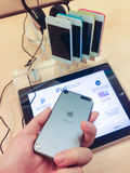 Касание iPod Стоковые Фото