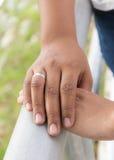 Касаться рук Стоковое Изображение RF