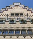 Каса Ametller, модернистское здание конструировала Josep Puig Стоковые Фото