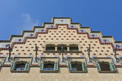 Каса Ametller, модернистское здание конструировала Josep Puig i Cadafalch barcelona Испания Стоковые Изображения RF