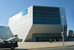 Каса da Musica, Порту Стоковое Фото