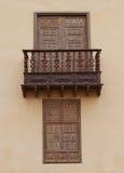 Каса de los Coroneles в Ла Oliva на Фуэртевентуре Стоковое Изображение