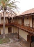 Каса de los Coroneles в Ла Oliva на Фуэртевентуре Стоковая Фотография RF