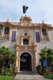 Каса del Prado на парке бальбоа в Сан-Диего Стоковые Фотографии RF