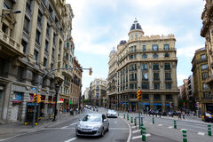 Каса Heribert Salas, город Барселоны старый, Испания Стоковые Изображения