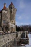 Каса Loma, замок в Торонто, Канаде Стоковая Фотография