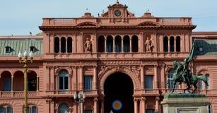 Каса Rosada, Буэнос-Айрес Стоковое фото RF