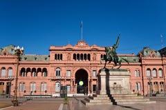 Каса Rosada, место правительства Argentinas в Буэносе-Айрес стоковые фото